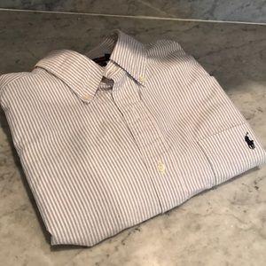 Ralph Lauren striped button down Men's Large